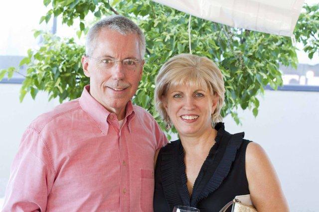 Chris Faulbaum and Shirley Ryan