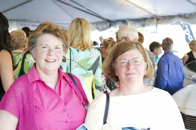 Jane Gianoulakis and Marilyn Orr