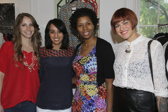 Elizabeth Buchanan, Reshma Chamberlin, Debra Bass, Samantha Chadwick