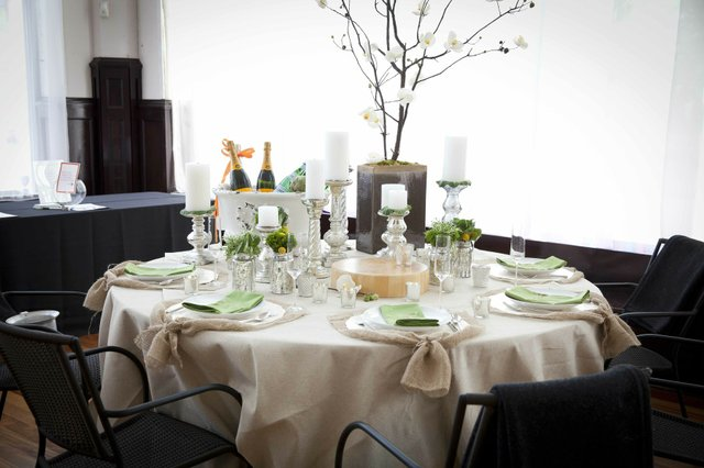 Tabletop design by Carolyn Peterson Design/Garrison Ltd.