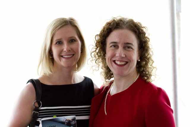 Kate Wasem and Anne Edmunds