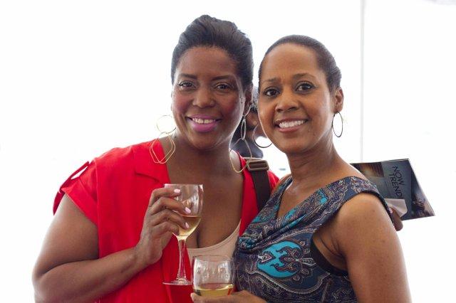 Cassandra Morrow and Denise Thomas