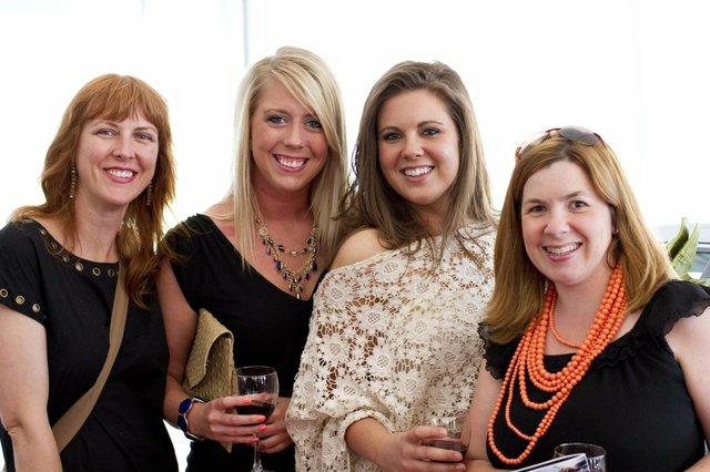 Paige McClellan, Brenda Doerhoff, Stephanie Baker, and Kimberly Ruether