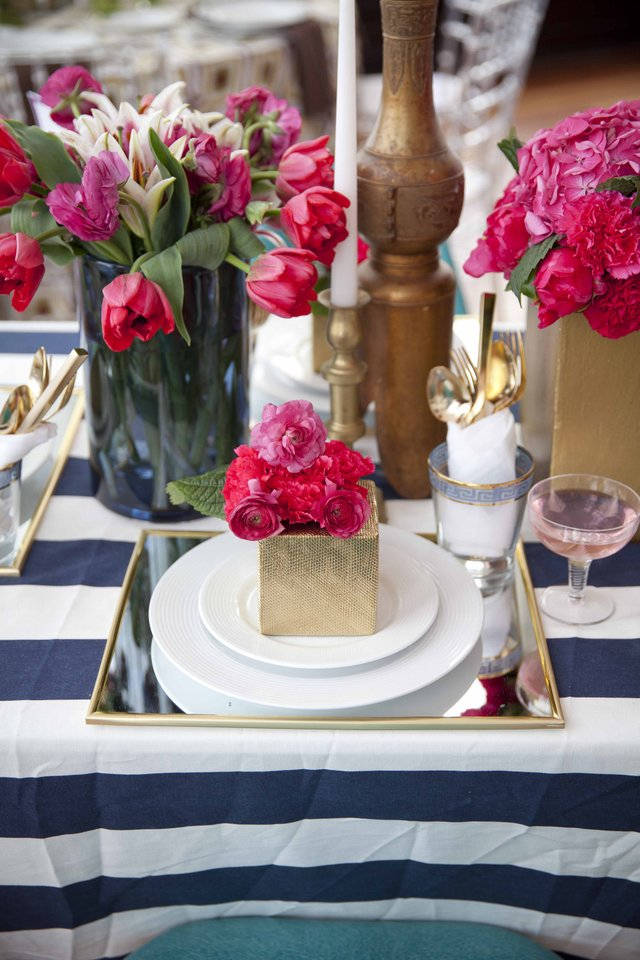 Tabletop design by Cure Design Group