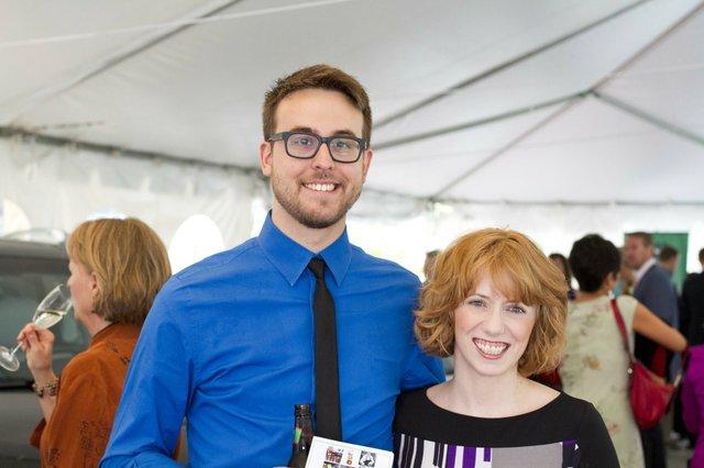 Justin Gorinsky and Rebekah Miller
