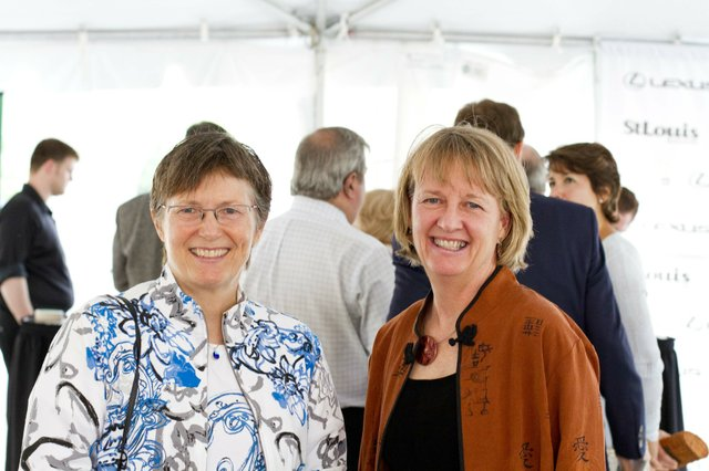 Beth Dyer and Barb Faulkenberry