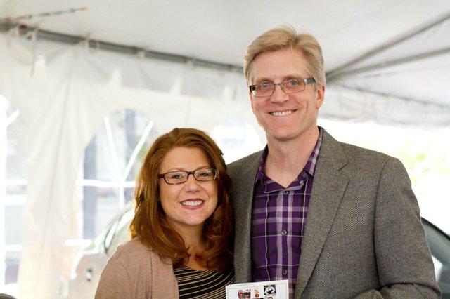 Heather Raznick and Nick Holekan