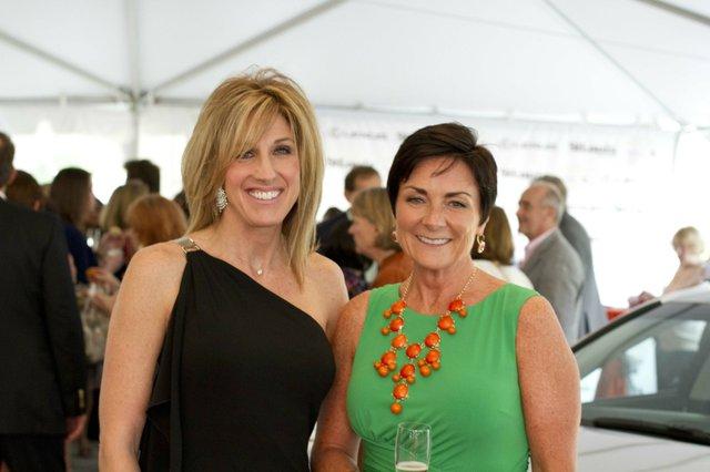Lisa Krueger and Lisa Hebert