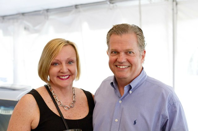 Kathy Best and Bill Johannessen