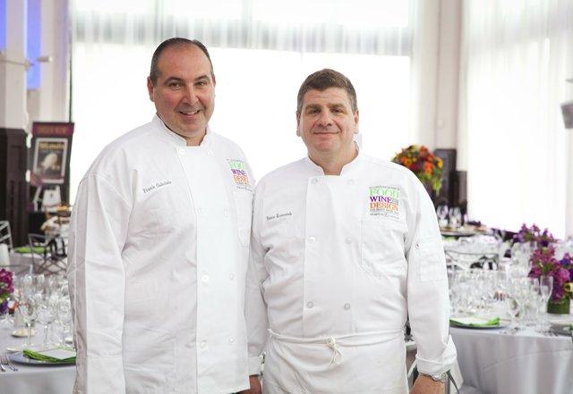 Frank Gabriele of Il Bel Lago and Steve Komorek of Trattoria Marcella