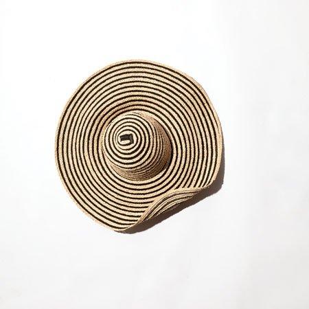 Calvin Klein straw hat