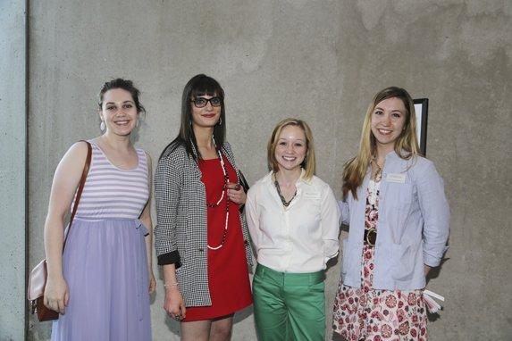 Courtney Cannon, Amanda Araiza, Melanie Woody, Carianne Noga