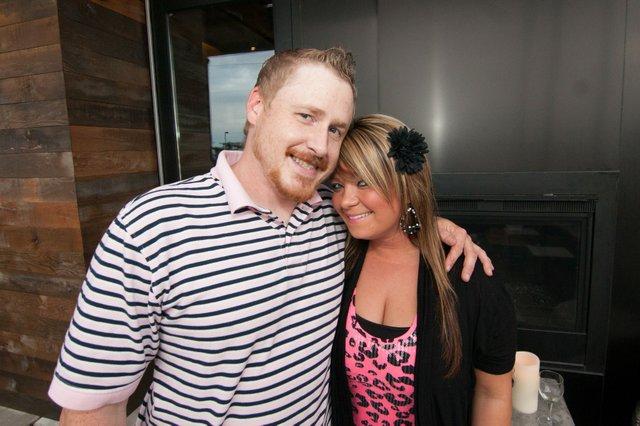 Matt Little and Ashley Patterson