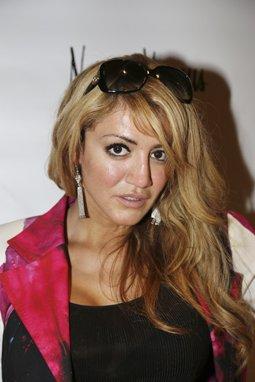 Ola Hawatmeh with earrings