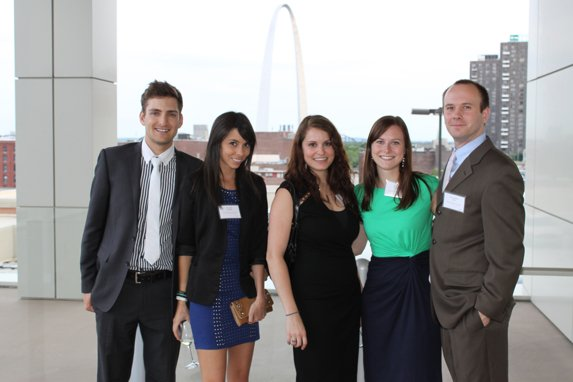Paul Colditz, Alex Colonel, Jessica Bellomo, Rebecca and John Stutte