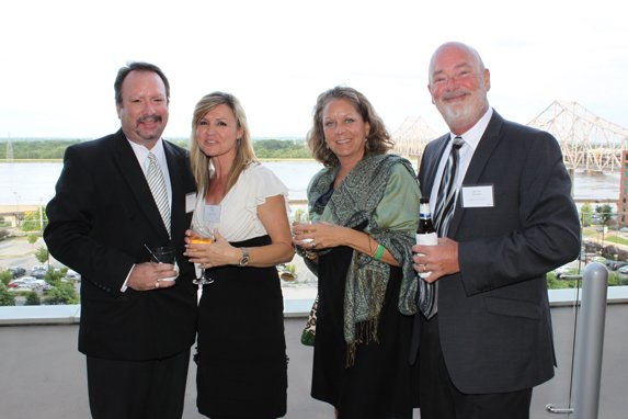 Robert Geisz, Karen Kunkel, Michaela and Tim Bannister