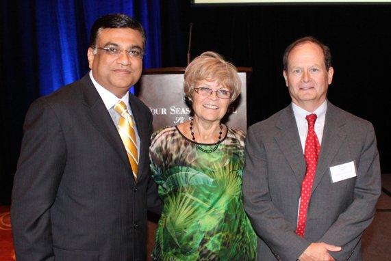 Depak Kant Vyas, Dr. Patricia Wolff, John Wade