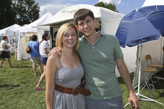 Katlin and Justin Mahley