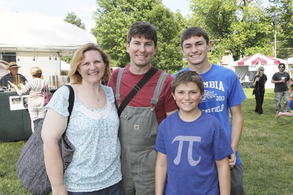 Nicole, Kris, Casey ,and  Kristian Ausie-Rouse