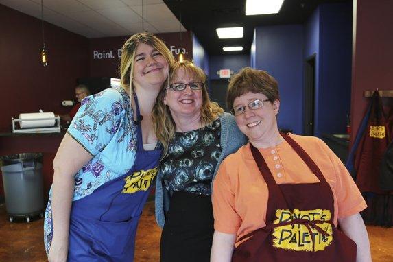 Elizabeth Kern, Maureen Wilson owner, Sarah Walker