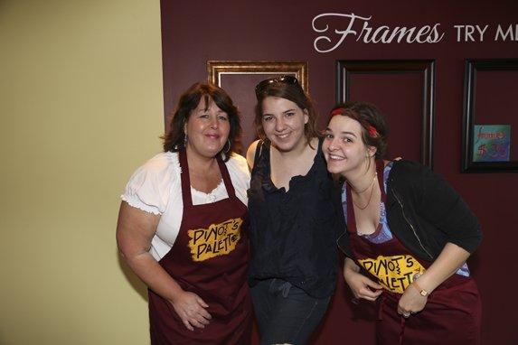 Amy Fitzwilliam, Anna Fredrick, Claire Fredrick