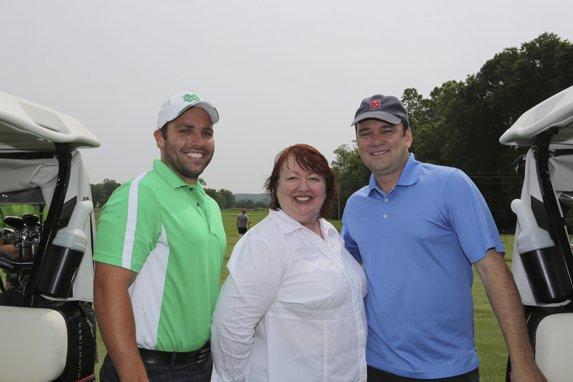 Nick Bender, Marie Davis Executive Director, Terry Dougherty