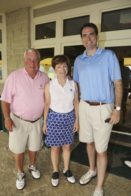 Bob and Sally Roth with son-in-law, Scott Stephens