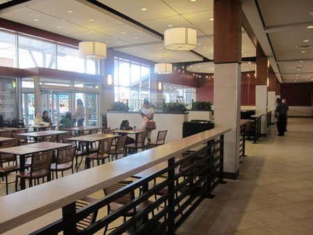 Taubman Outlet Food Court