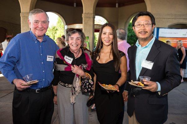 Dr. Duane & Kit Hagen, Dr. Peter & Jieun Zhang