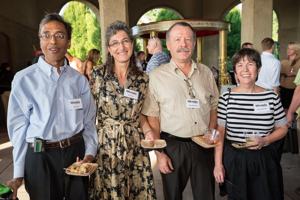 Dr. Dharam & Myrto Goel, Herve & Dr. Gerry Deschamps