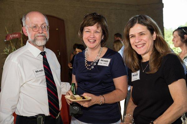 Dr. Bob & Susan Heaney, Dr. Peri Pepmueller