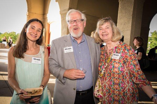 Dr. Anna Conti, Dr. James & Aleda Littlefield