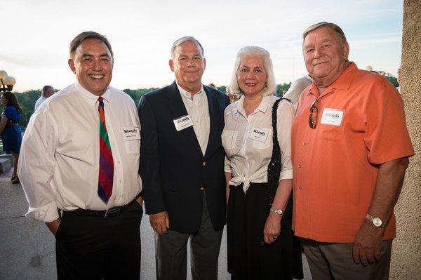 Dr. Jeffrey Hallazgo, Tom Williams, Joan Todd, Lloyd Todd
