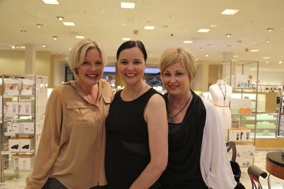 Amy Sommerville, Angela Adams, Sharon Tucci