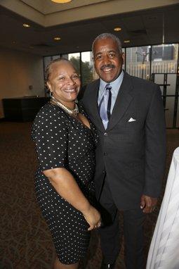 Dr. Monica and Calvin Stewart