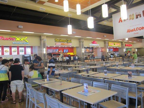 Galleria St Louis Food Court