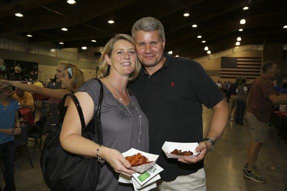 Liz and Brian Hansen