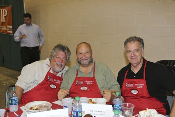 Howard Balzer, Joe Holleman, David Craig