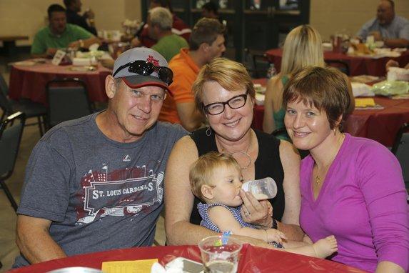 Ron and Karen Sieve, Evie Dontram, Jen Sieve Dontram