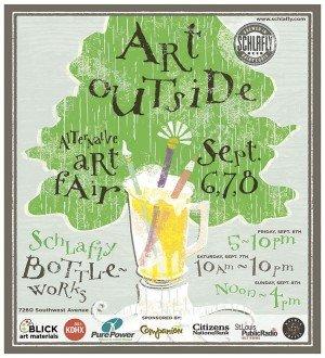September 6, 7 & 8: Art Outside