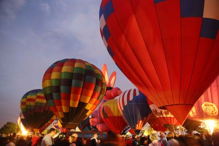September 20 & 21: The Great Forest Park Balloon Race