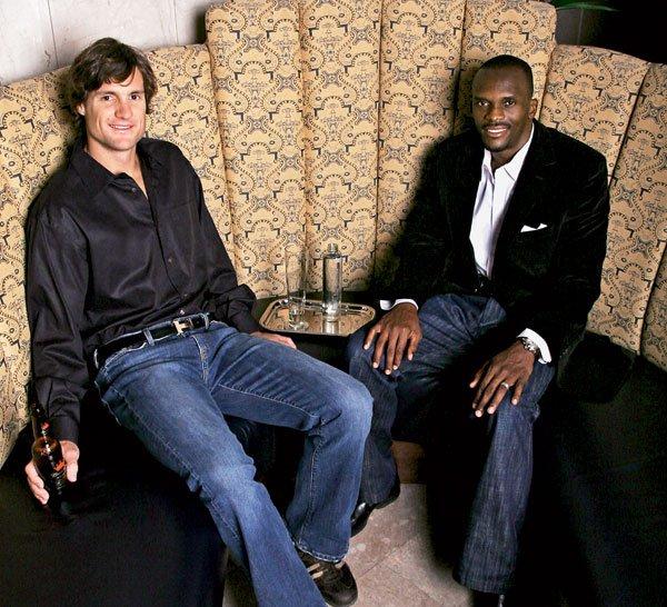 Class of 2007: Drew Bennett and Isaac Bruce