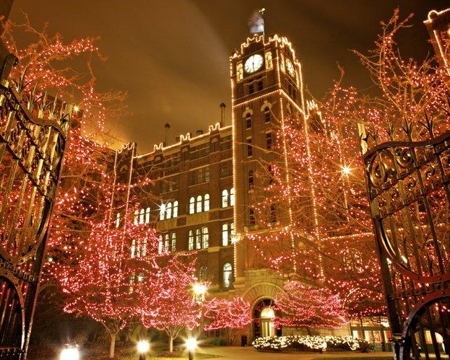 Christmas Light Displays In St Louis.Nine Must See Holiday Light Displays In St Louis