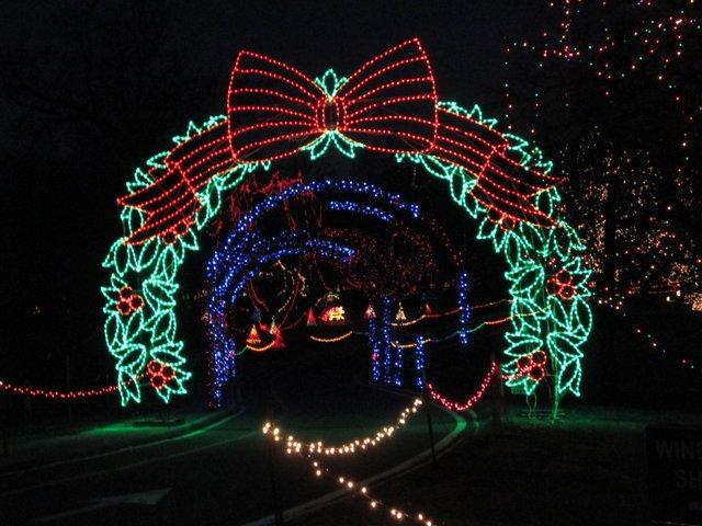 Winter Wonderland at Tilles Park