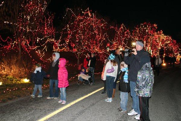 Celebration of Lights at Fort Zumwalt Park, O'Fallon, Mo.