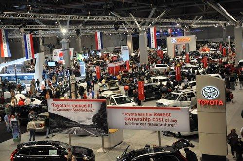Through January 26: Saint Louis Auto Show