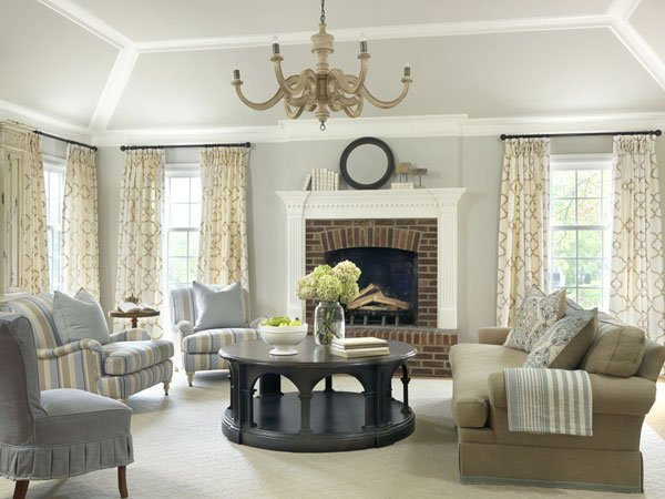 Traditional Interior Design More Than 3,000 Square Feet