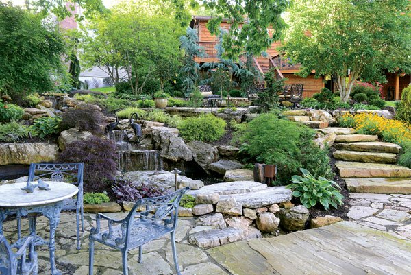 Residential Landscape Design Construction Half-Acre or Less