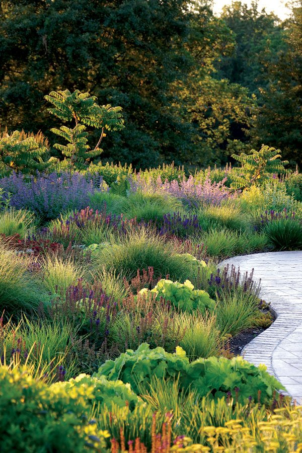 Residential Landscape Design Construction Half-Acre or More