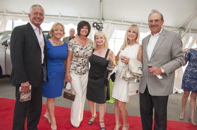 DSC_5704 Bill and Ann Glazer, Dawn Patterson, Judy Marther, Wendy and Jim Morton.jpg
